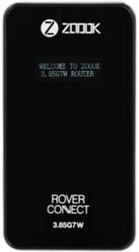 Best price on ZOOOK 3G 3.85G7W MIFI GSM Router in India