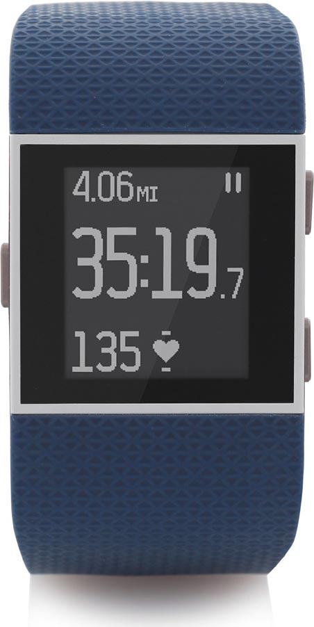 Best price on Fitbit Surge (FB501BKL) Ultimate Fitness Smart Watch in India