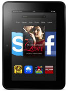 Best price on Amazon Kindle Fire HDX 7 16GB WiFi - Front in India