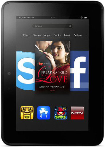Best price on Amazon Kindle Fire HDX 7 16GB WiFi in India