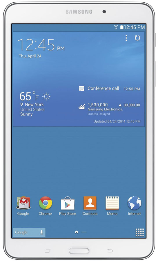 Best price on Samsung Galaxy Tab4 T330 Wifi 16gb in India