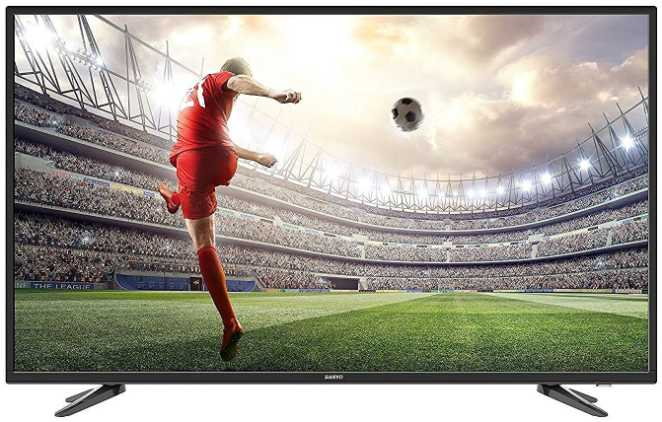 Best price on Sanyo 124 cm (49 inches) XT-49S7100F Full HD LED IPS TV in India