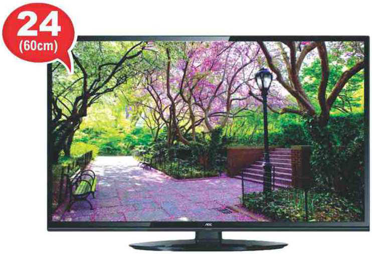 Best price on AOC LE24A3340-61 24 Inch HD Ready LED TV  in India