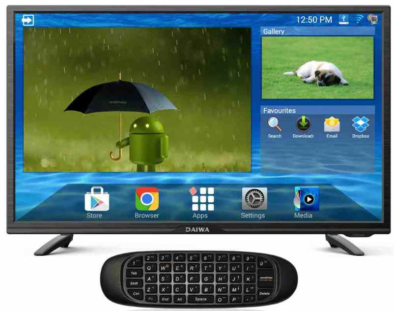 Best price on Daiwa D32D3S 32 Inch HD Ready Smart LED TV  in India