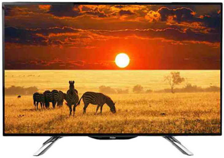 Best price on Haier LE40B7500 40 inch Full HD LED TV  in India