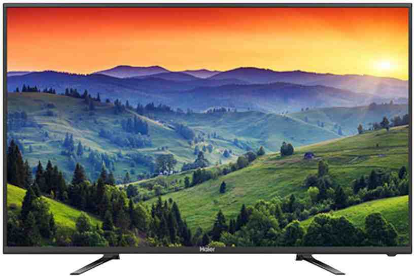 Best price on Haier LE40B8000 40 Inch Full HD LED TV  in India