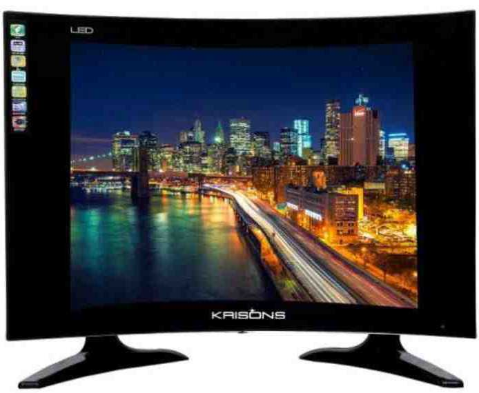Best price on Krisons KR19C 19 Inch HD Ready Curved LED TV  in India