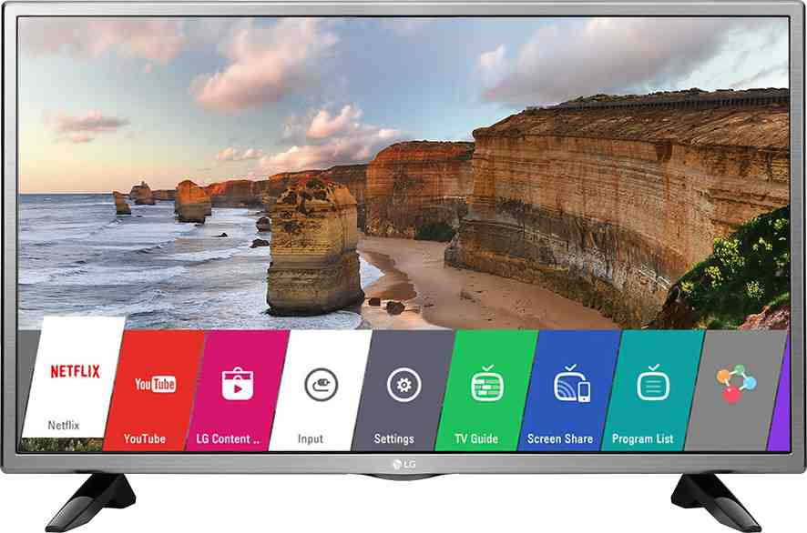 Best price on LG 32LH576D 32 Inch HD Ready Smart IPS LED TV  in India