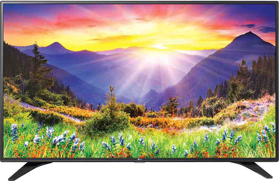 Best price on LG 32LH604T 32 Inch Full HD Smart LED TV  in India