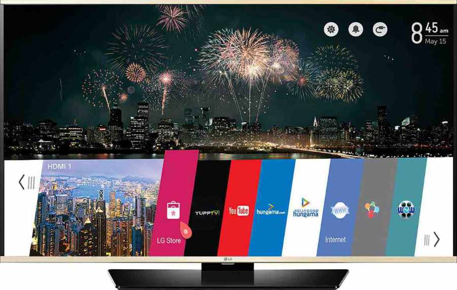 Best price on LG 43LF6310 43 Inch Full HD Smart LED TV (WITH WEBOS 2.0)  in India
