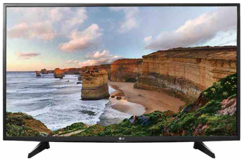 Best price on LG 43LH518A 43 Inch Full HD IPS LED TV  in India