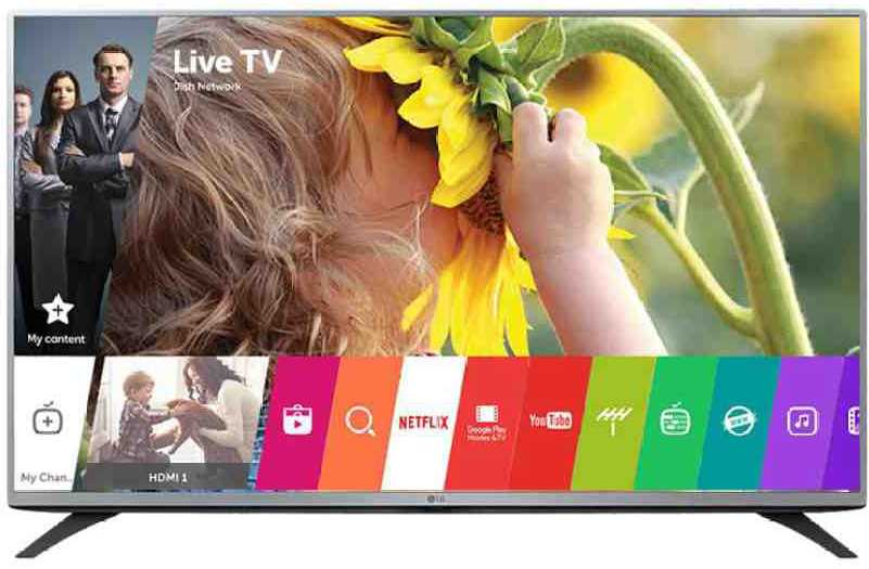 Best price on LG 43LH595T 43 Inch Full HD IPS LED TV  in India