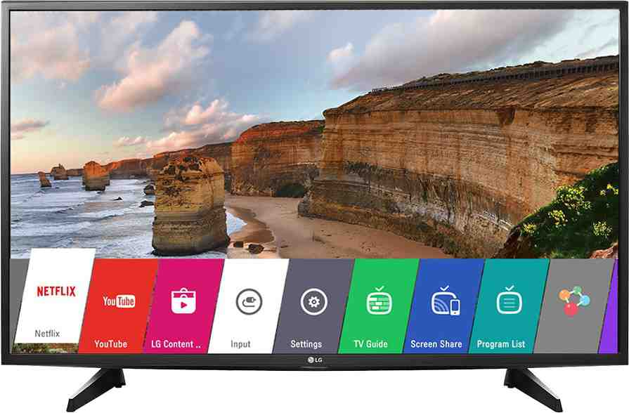 Best price on LG 49LH576T 49 Inch Full HD Smart IPS LED TV  in India