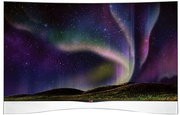 Best price on LG 55EA9700 55 inch Full HD 3D Smart Curved LED TV - Front in India
