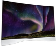 Best price on LG 55EA9700 55 inch Full HD 3D Smart Curved LED TV - Back in India