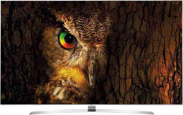 Best price on LG 55UH770T 55 Inch UHD 4K Smart IPS LED TV  in India
