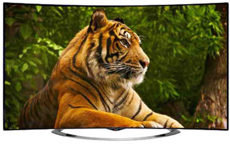 Best price on LG 65EC970T Ultra HD 4K Smart Curved LED TV  in India