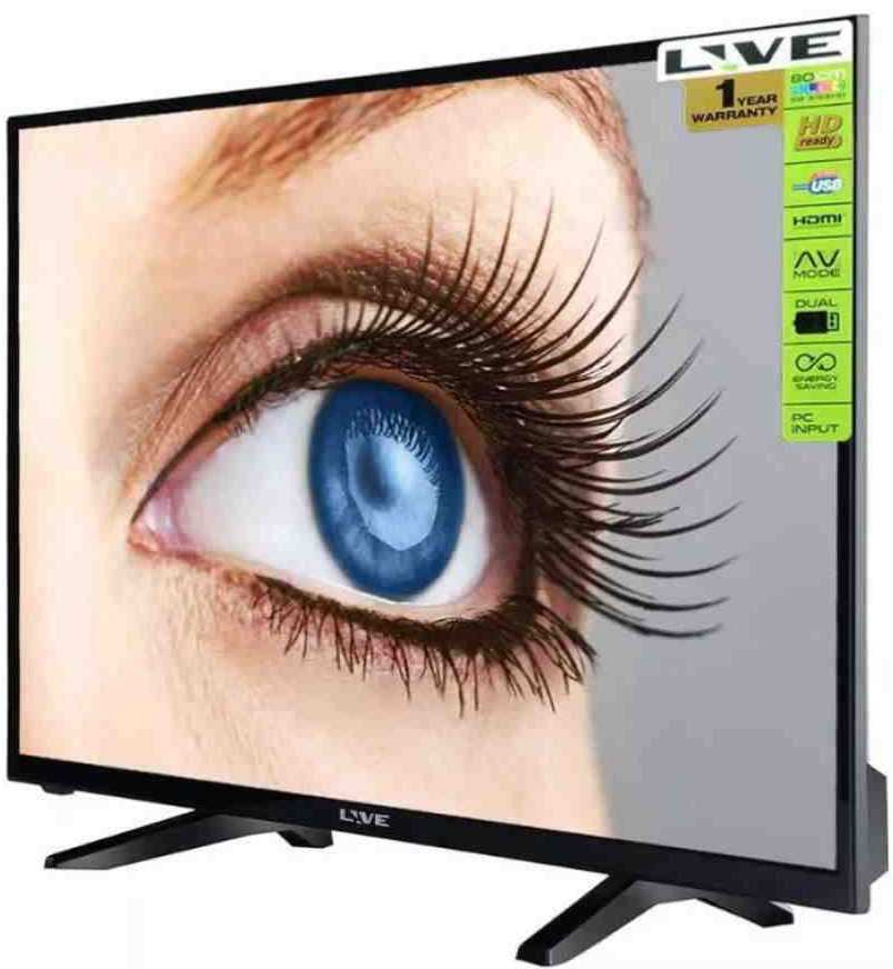 Best price on Live SB-3155HD 32 Inch HD Ready LED TV  in India