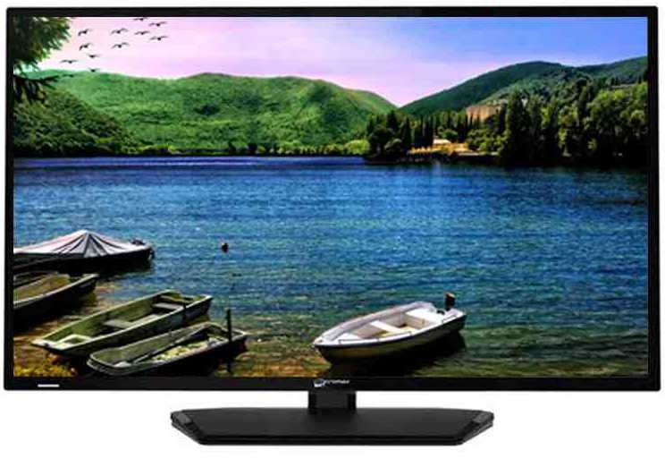 Best price on Micromax 32T42ECHD 32 inch HD Ready Slim LED TV  in India