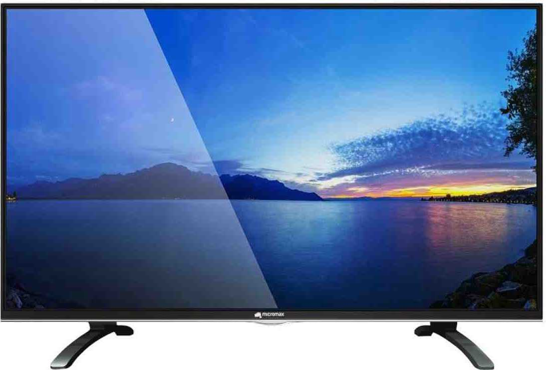 Best price on Micromax CANVAS-S 40 Inch Full HD Smart LED TV  in India