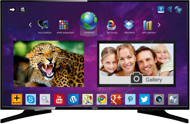 Best price on Onida LEO32HIN 32 Inch HD Ready Smart LED TV  in India