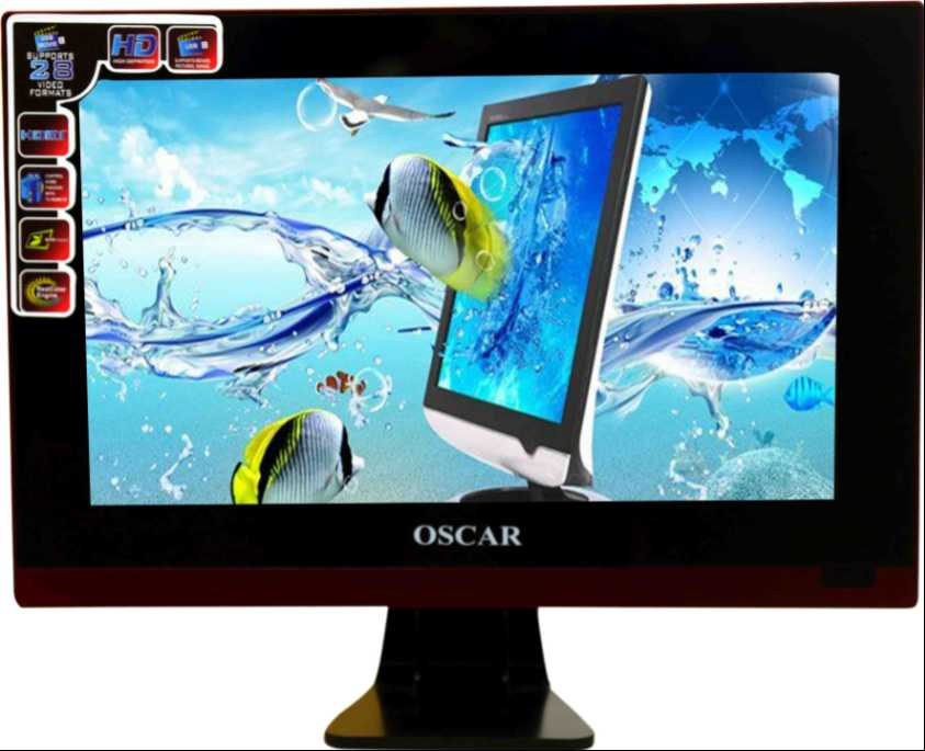 Best price on Oscar LED17M11 17 Inch HD Ready LED TV  in India
