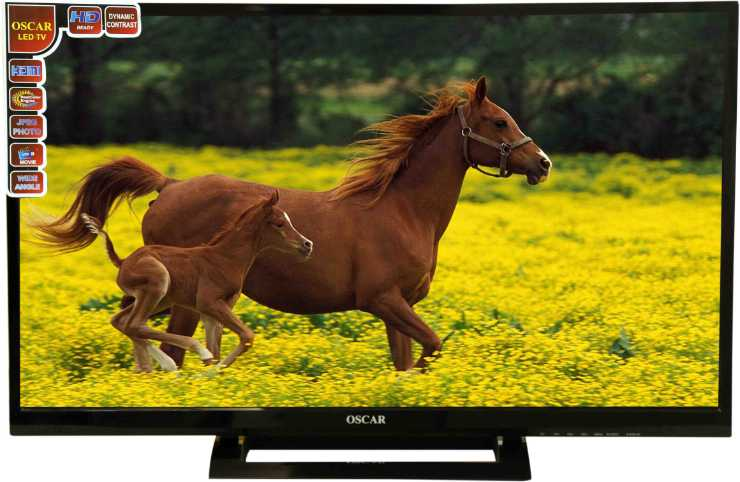 Best price on Oscar LED32P32 32 Inch HD Ready LED TV  in India