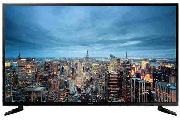Best price on Samsung 40JU6000 40 Inch 4K Ultra HD Smart LED TV  in India
