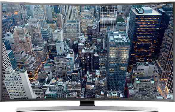 Best price on Samsung 40JU6670 40 Inch Ultra HD Curved Smart LED TV  in India