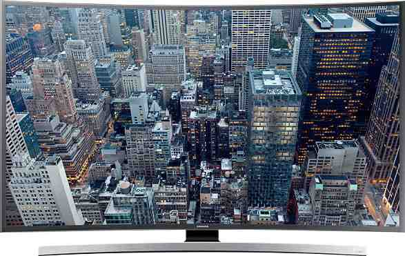 Best price on Samsung 48JU6670 48 Inch 4K Ultra HD Curved Smart LED TV  in India
