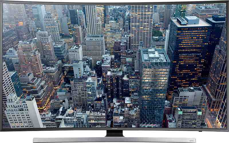 Best price on Samsung 48JU7500 48 inch Ultra HD Curved Smart LED TV  in India