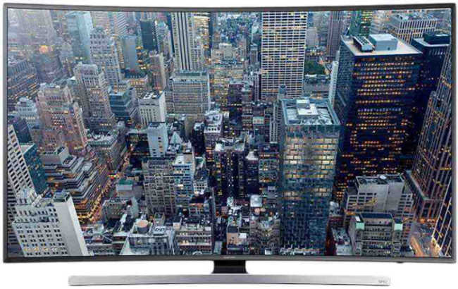 Best price on Samsung 55HU7200 55 inch Ultra HD Curved Smart LED TV  in India