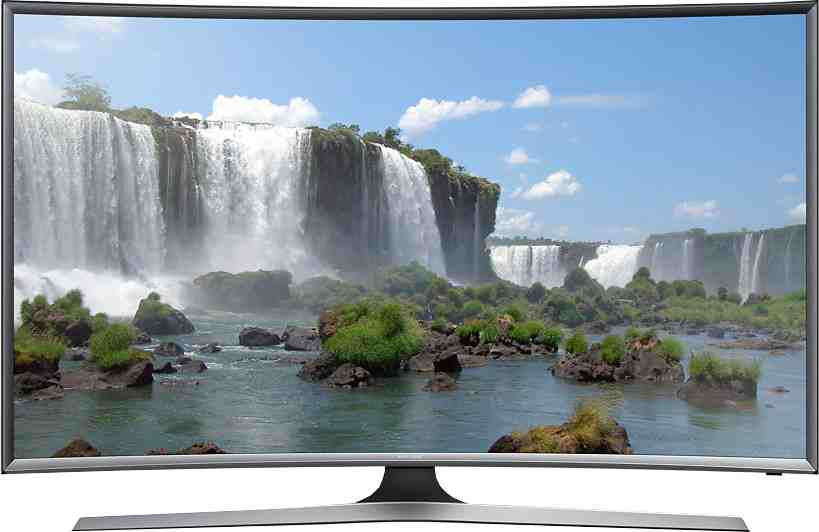 Best price on Samsung 55J6300 55 Inch Full HD Smart Curved LED TV  in India