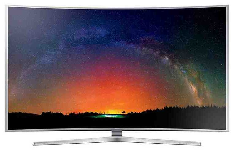 Best price on Samsung UA55JS9000K 55 inch HD Smart LED TV  in India