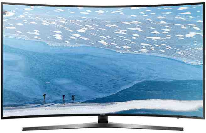 Best price on Samsung 55KU6570 55 Inch Ultra HD 4K Smart Curved LED TV  in India