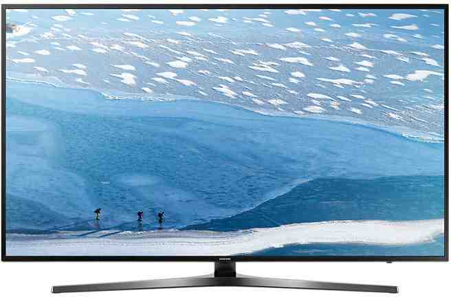 Best price on Samsung UA43KU6470 Ultra HD 4K Smart LED TV  in India