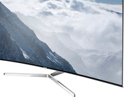Best price on Samsung UA55KS9000KLXL 55 Inch Ultra HD 4K Curved Smart LED TV  - Side in India