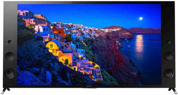 Best price on Sony Bravia KD-55X9300C 55 Inch Ultra HD Smart 3D LED TV  in India