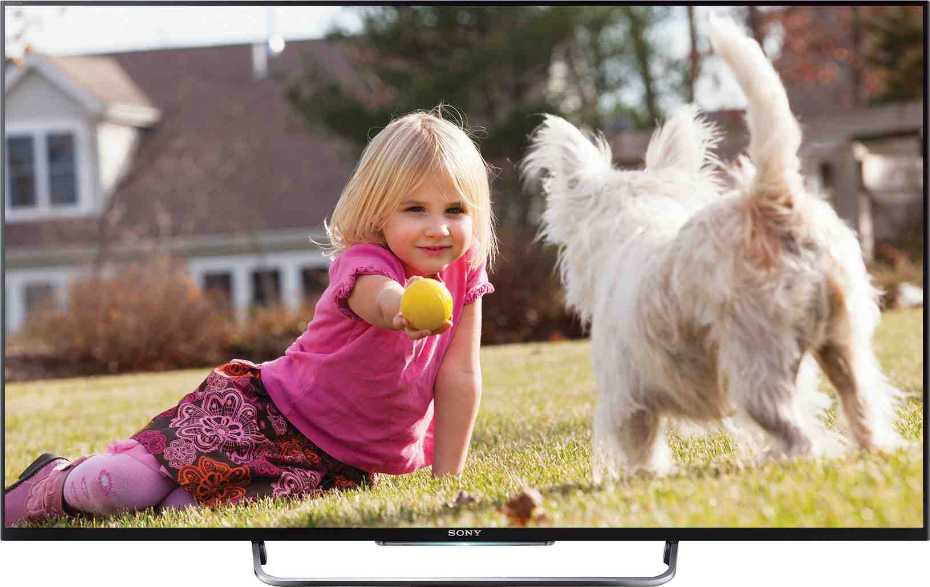 Best price on Sony Bravia KDL-50W800B 50 inch Full HD Smart 3D LED TV  in India