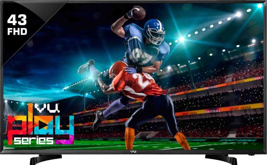 Best price on Vu 43D6575 43 Inch Full HD LED TV  in India