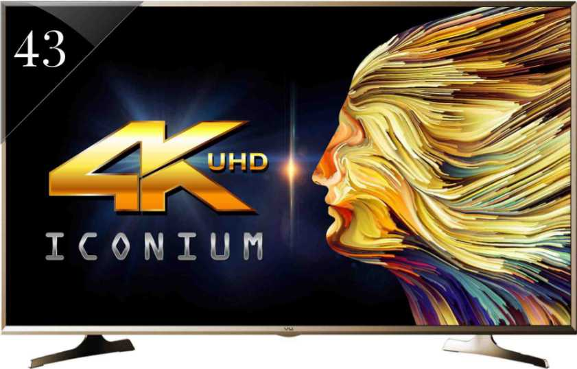 Best price on Vu 43S6535 43 Inch UHD Smart LED TV  in India