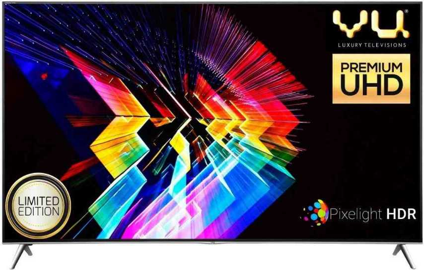 Best price on Vu H75K700 75 Inch 4K Ultra HD 3D Smart LED TV  in India