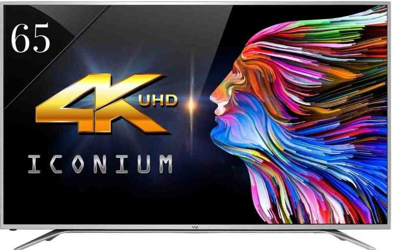 Best price on Vu LTDN65XT780XWAU3D 65 Inch 4K Ultra HD 3D Smart LED TV  in India