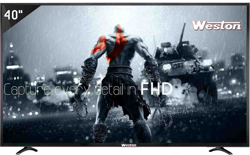 Best price on Weston WEL-4000 40 inch Full HD LED TV  in India