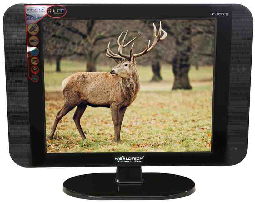 Best price on Worldtech WT-2005TF 20 Inch Full HD Super Slim LED TV  in India