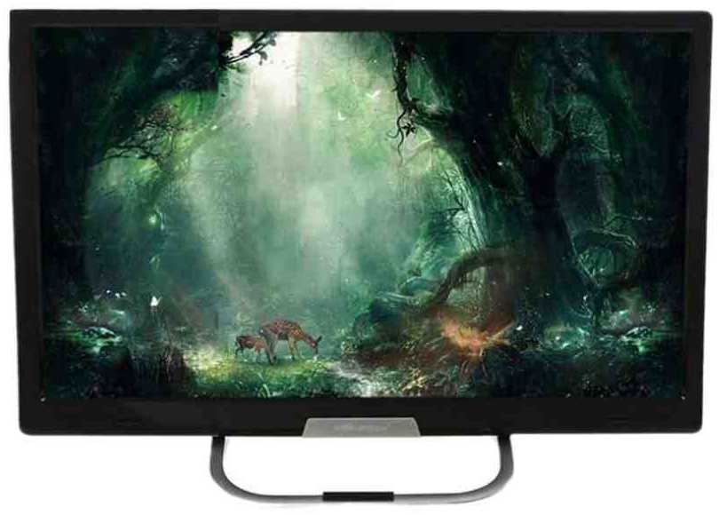 Best price on Worldtech WT-24 24 Inch Full HD LED TV  in India