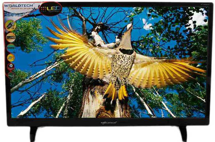 Worldtech Wt-2455 24 Inch Full HD LED TV