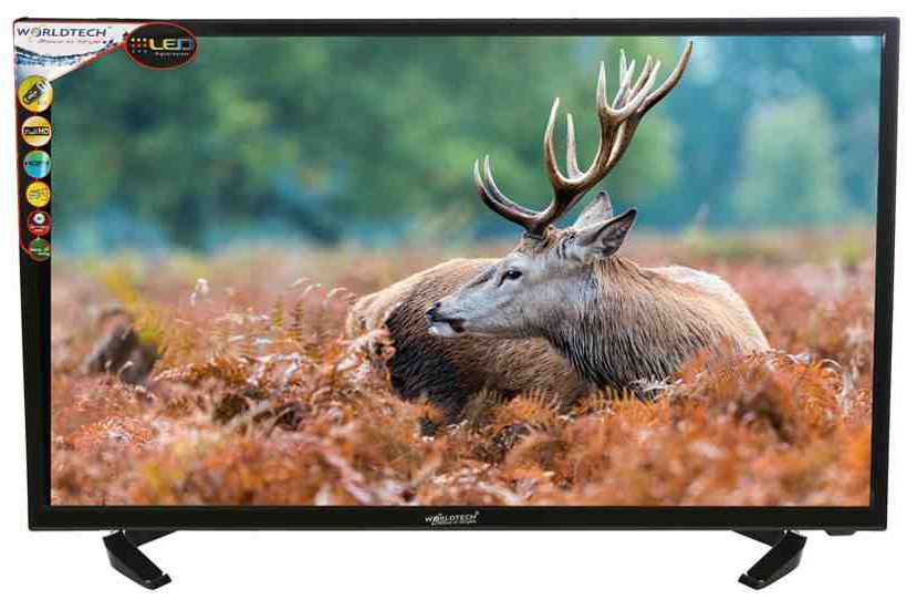 Best price on Worldtech WT-3175 32 Inch Full HD LED TV  in India