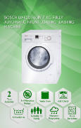 Best price on Bosch WAK20160IN 7 kg Fully-Automatic Washing Machine - Side in India