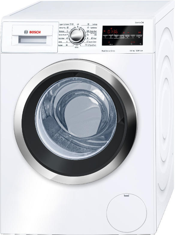 Best price on Bosch WAT24460IN Fully Automatic 8 Kg Washing Machine (White) in India
